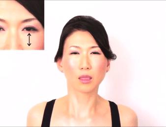 顔のたるみ体操4