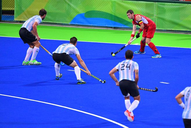 31st Rio 2016 Olympics / Hockey : BEL - ARG Men's Gold Medal Match