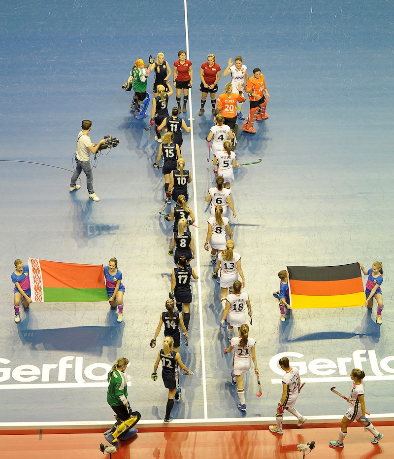 FIH - Indoor Hockey World Cup - Semi-Final - Women - Germany v Poland