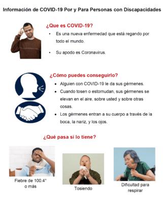 Plain Language Information on COVID-19 - Spanish Version - Self ...