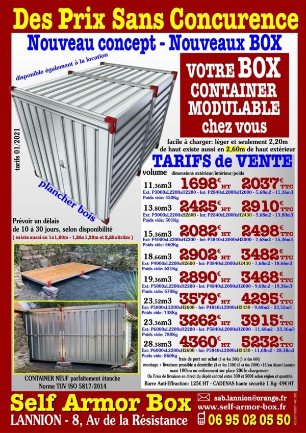Vente container