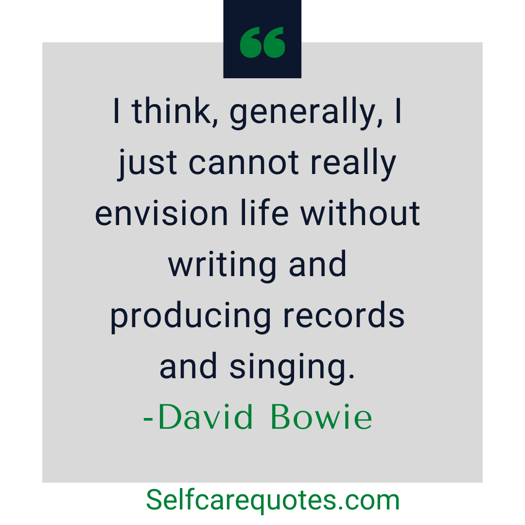 david bowie quotes about art