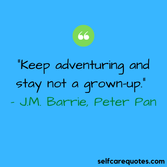 Peter Pan quotes about adventure