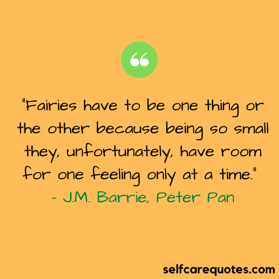 Peter Pan quotes about fairies