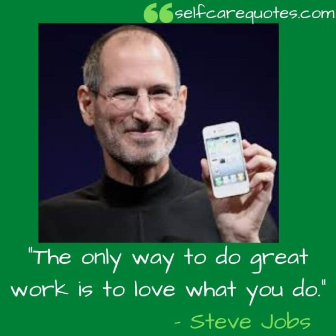 Steve Jobs Quotes on Work