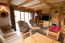Chalet with garden in St Martin de Belleville