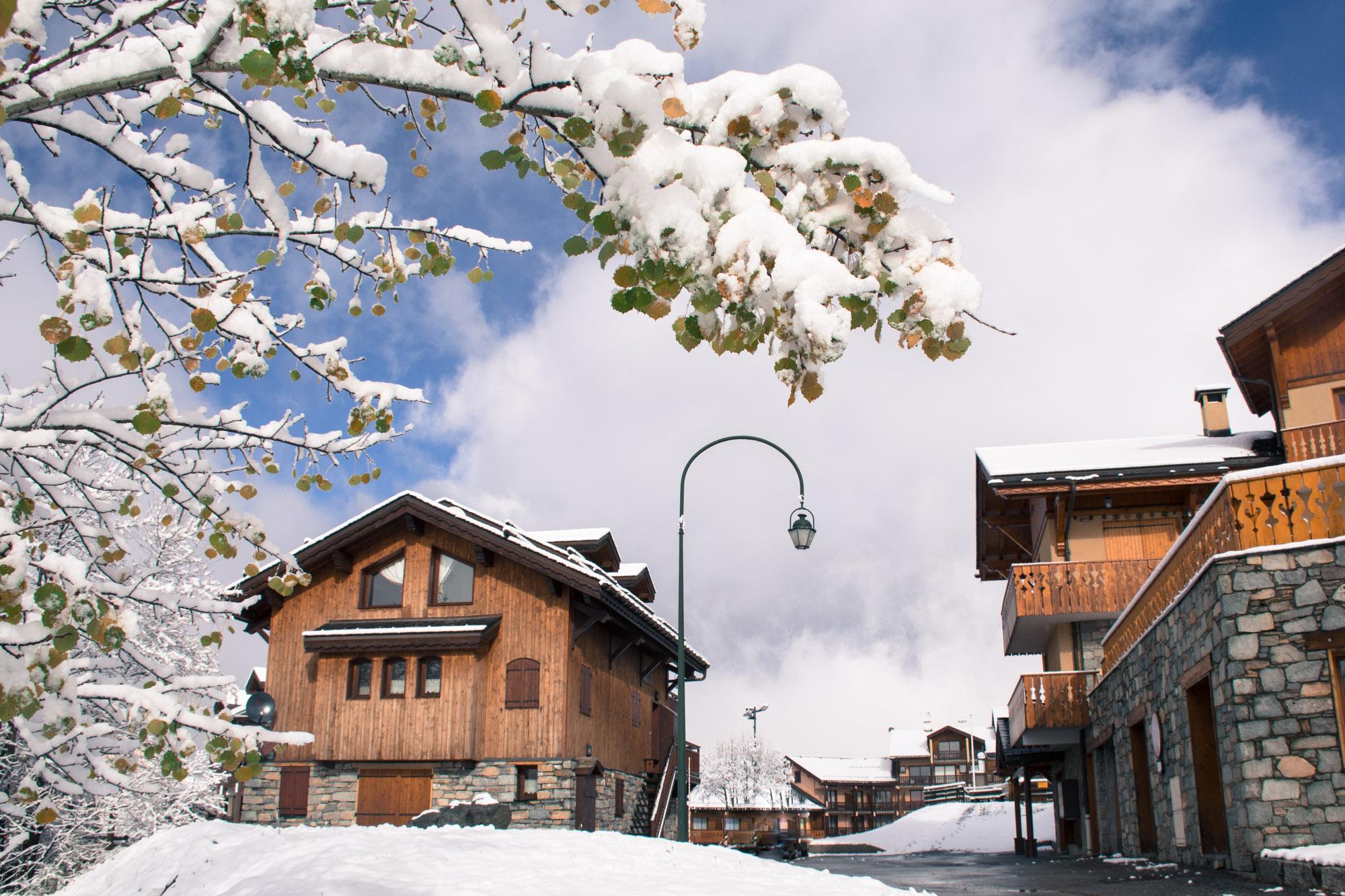 Ski-in ski-out chalet 3 Valleys