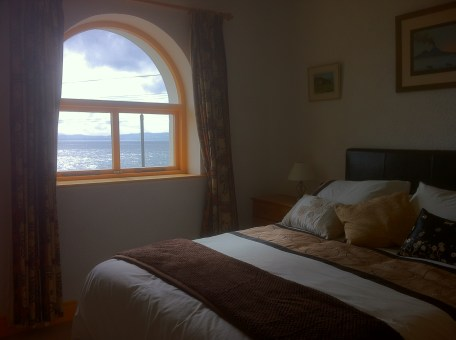 Bedroom 2 - with sea views