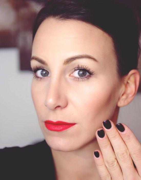 L.O.V serum foundation colorandcare lipstick dramaticvolumemascara eyebrow contouring palette selfconceptofjay 3