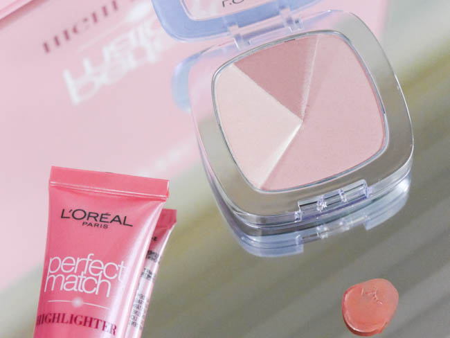 loreal perfect match glow highlighter 26