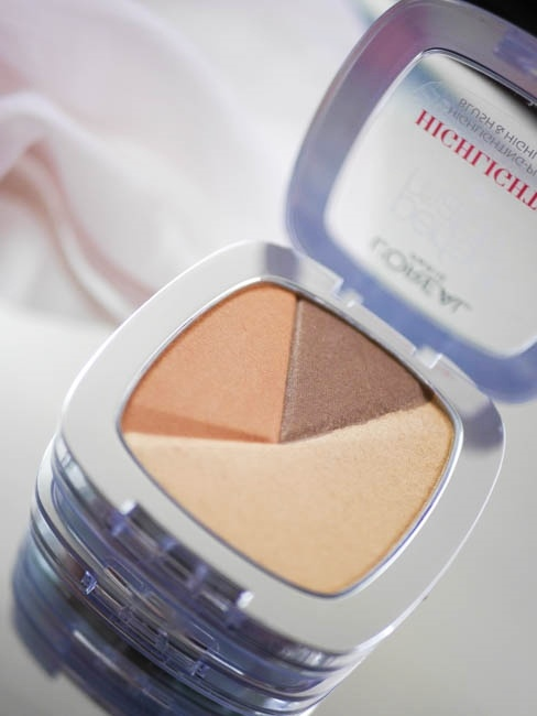 loreal perfect match glow highlighter 42