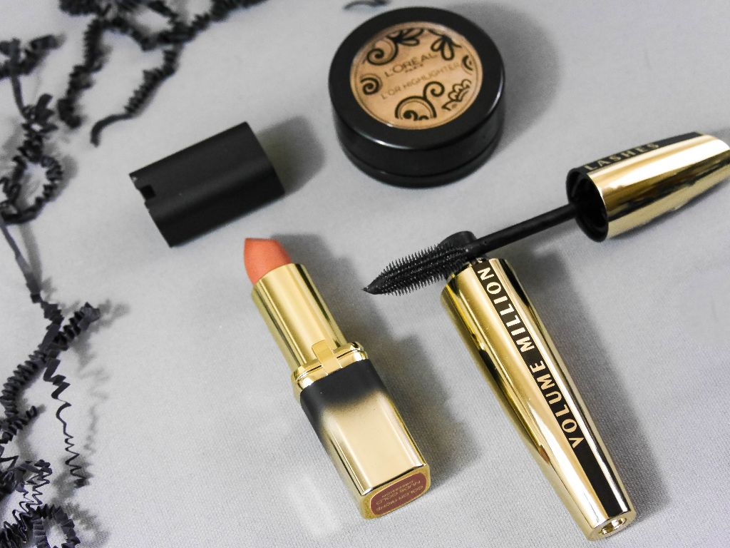 loreal paris extravaganza golden muse makeup designer 14