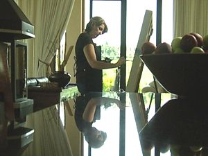 COLLEEN-JOY The Artist at work