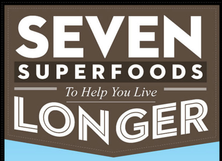 Superfoods Live Longer