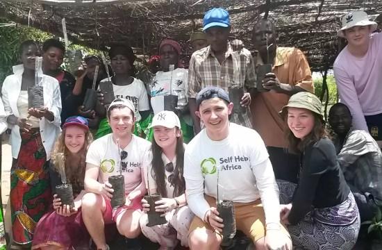 STUDENTS VISIT MALAWI