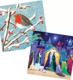 Christmas cards for charity, Africa