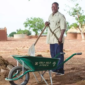 Christmas gift for Africa farm tools