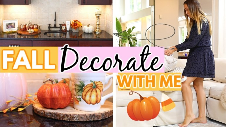 Fall Decorate And Clean With Me 2019 || Myka Stauffer