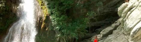 En bici a las Cascadas de San Agustín Ahuehuetla