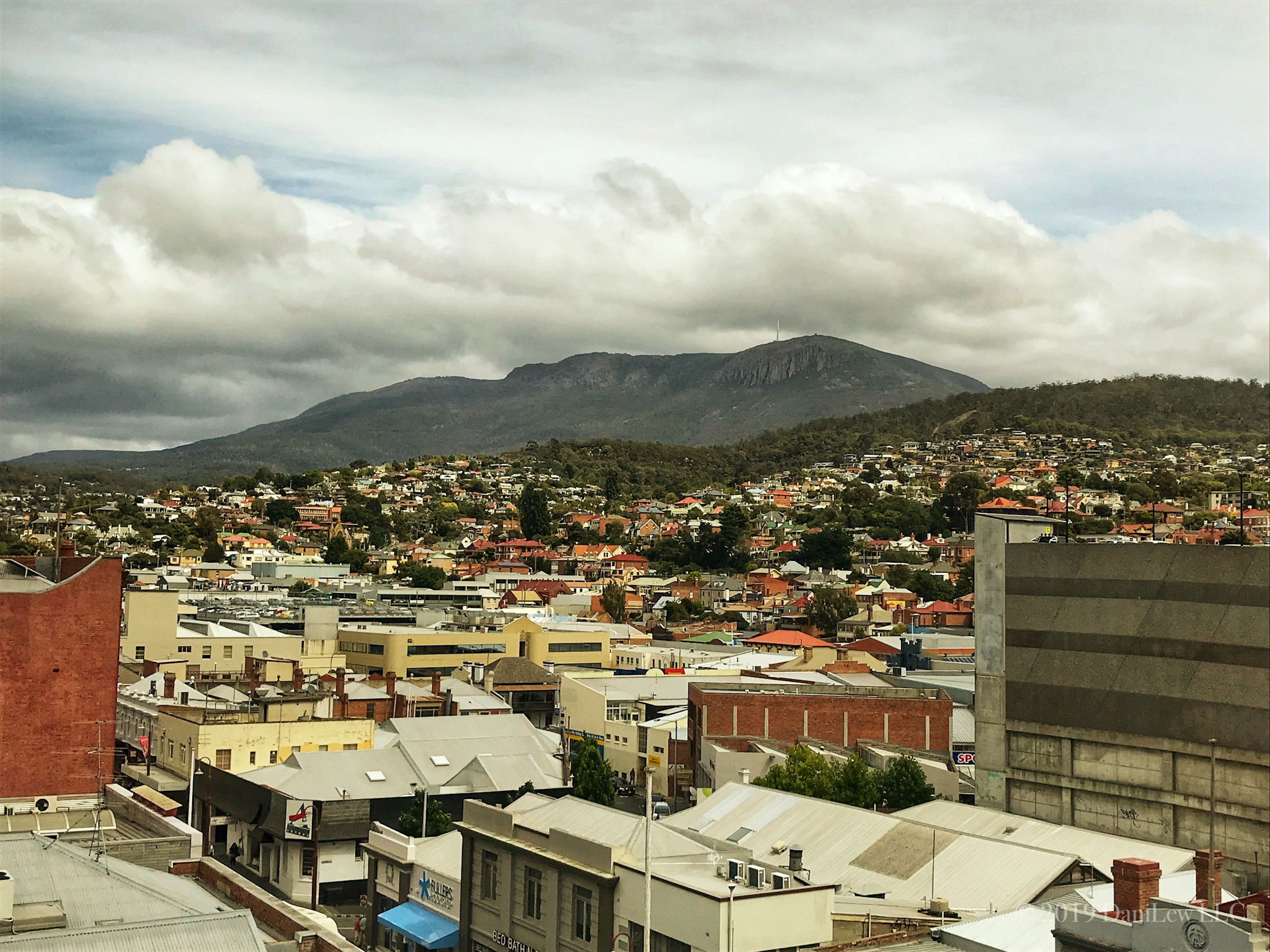 View of Mt Wellington Hobart Tasmania - image taken with an iPhone 7