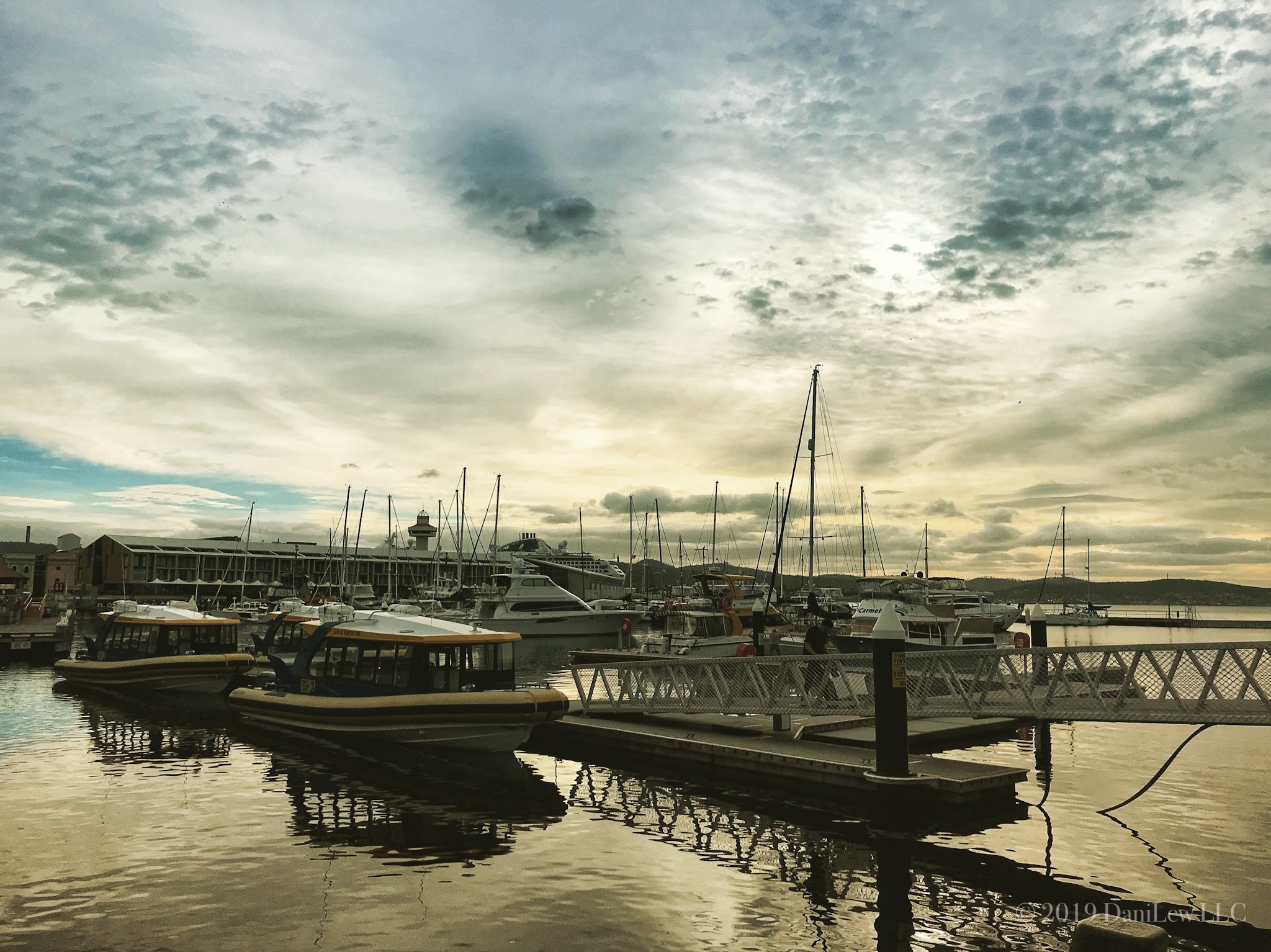 Constitution Dock Hobart Tasmania - image taken with an iPhone 7
