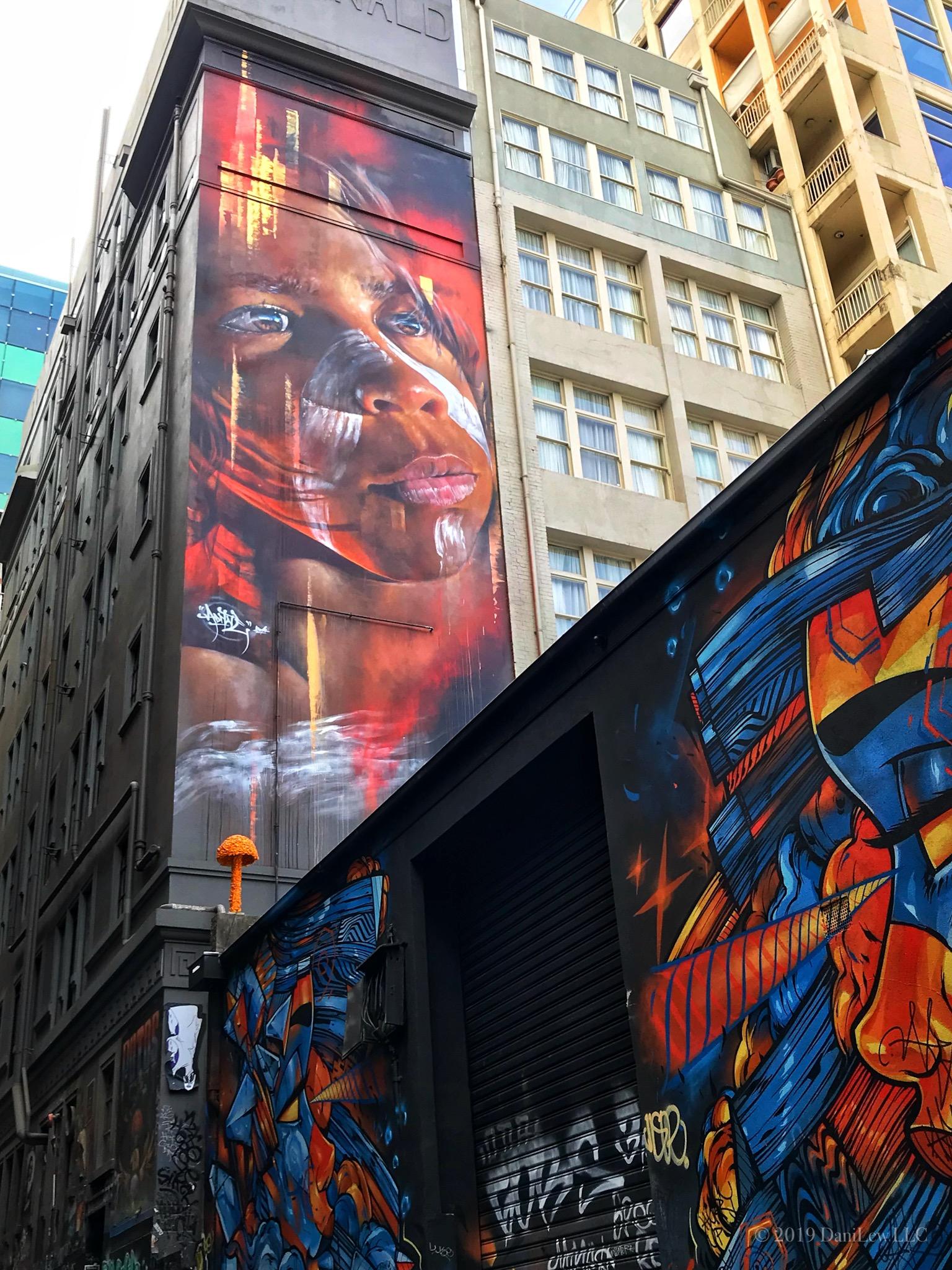 Hosier Lane Street Art - image taken with an iPhone 7