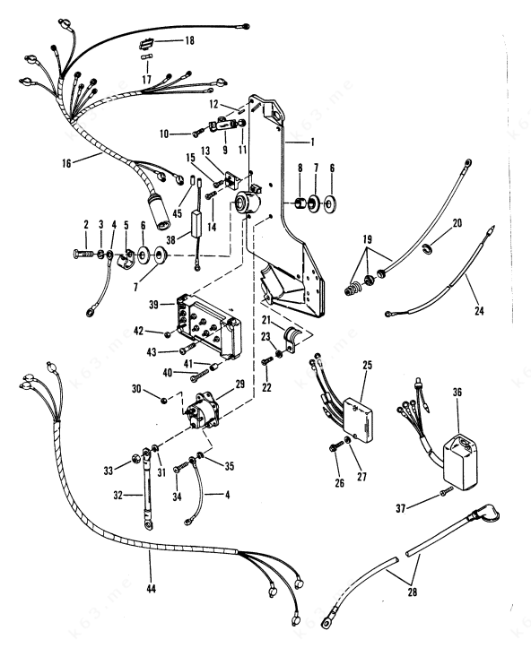 2007 Mercury Mariner Wiring Harness Diagram