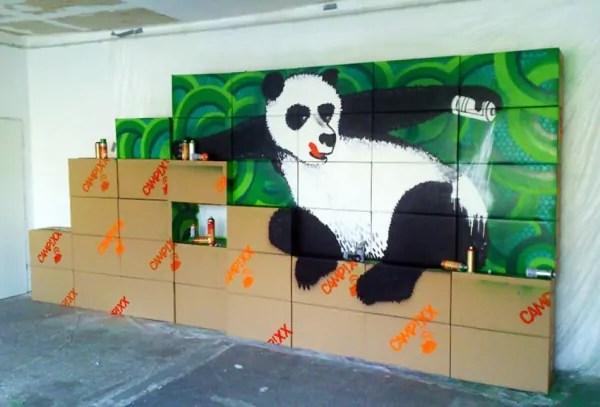 Google Panda Update- Indoor Graffiti- ein Auftrag für SEO Firma