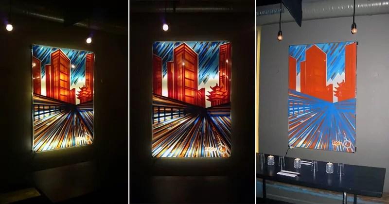 Finales Klebeband-Kunstwerk- Art Battle 2013