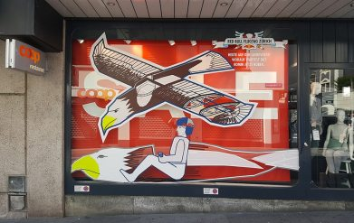 Image 1- Live taping by Ostap from Selfmade Crew on Red Bull Flying Day in Zurich
