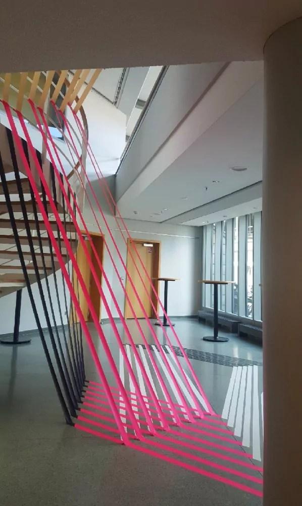 Bild 2-3D Installation mit Klebeband für Gruner+Jahr Event