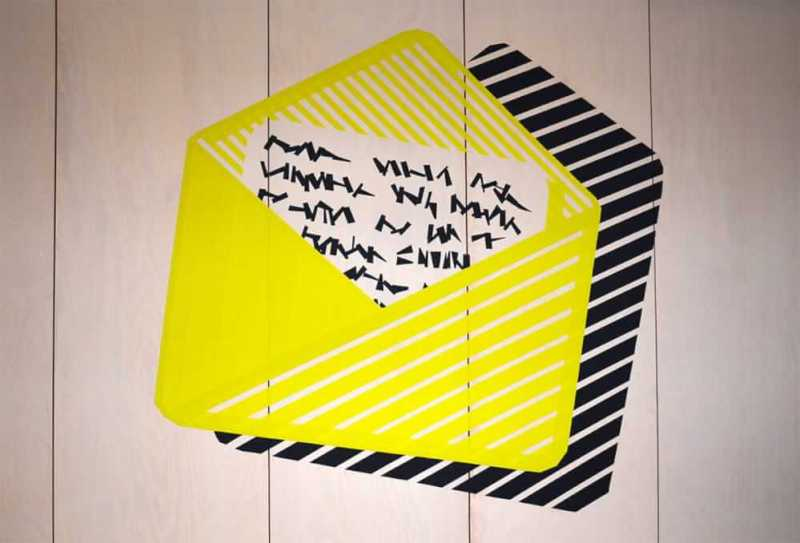 Mail-duct-tape-artwork-google-office-design-zurich-selfmadecrew-2016
