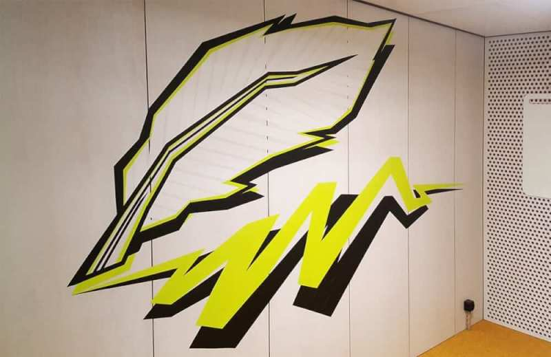 Quill-tape-graffiti-artwork-google-office-design-zurich-selfmadecrew-2016