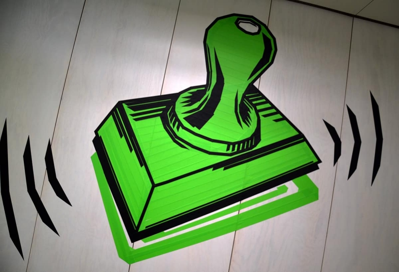 Stempel-tape-art-google-office-design-selfmadecrew-zurich-2016