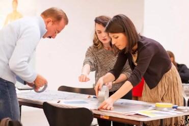 Creating art together - team building workshop for companies