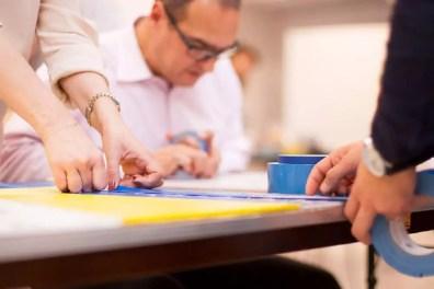 Konzentriert und Inspiriert- Team-working Workshop Teilnehmer