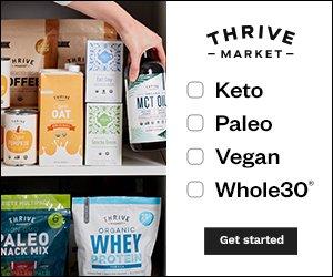 Thrive Market Keto Vegan Paleo