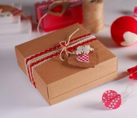 Jolie Bote Cadeau Pour Nol SelfPackaging