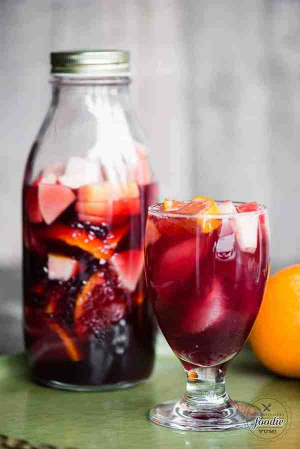 Sparkling Red Sangria Recipe And Video Proclaimed