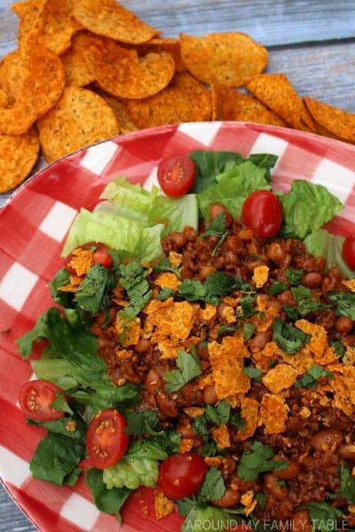 Tex-Mex Taco Salad   Around My Family Table