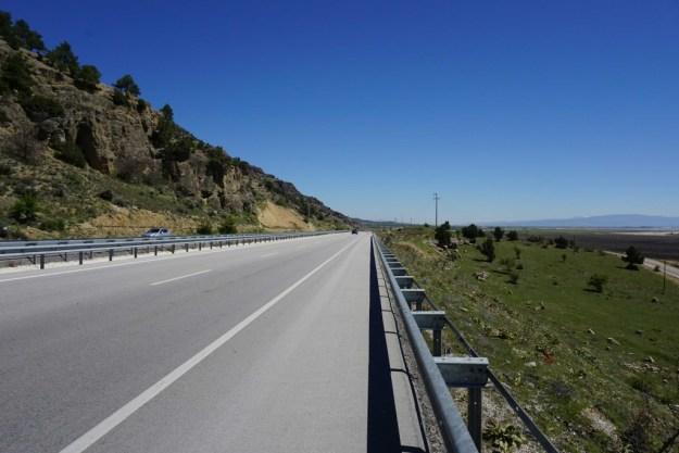Great roads across the plain