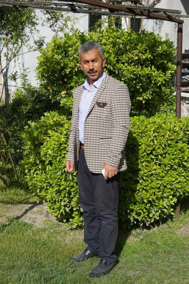 Ferrit in his garden, Sultanhani