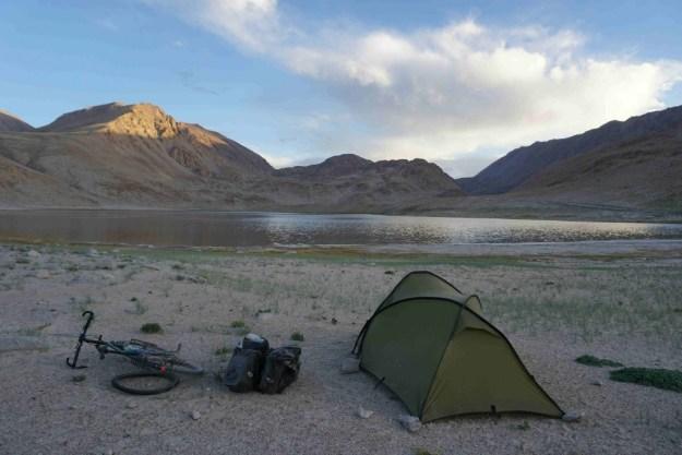 Camping after the Karghush Pass