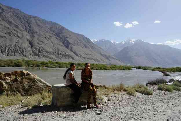 Pamiri children in the Wakhan valley