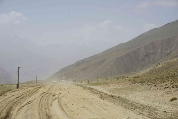 The biggest hazard in the high Wakhan were the sand traps.