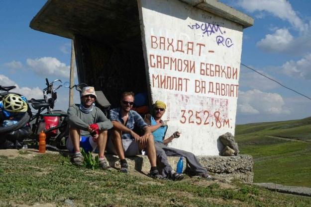 Top of the Sagirdasht pass. Photo credit: I.Mathews