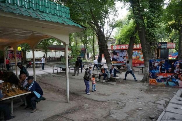 Riverside park, Osh