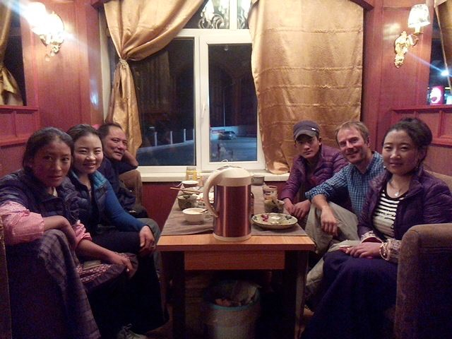 On the night I arrived in Yushu this kind Tibetan family invited me to eat with them. Of course I wasn't allowed to pay for anything.