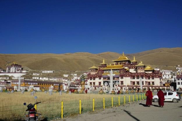 Serxu monastery, Sichuan