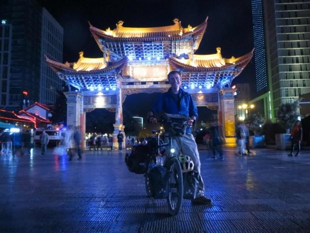 Arriving in Kunming